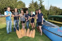 Team Praxis Dr. Montanari / Stiepeler Bote startet beim KC Wiking Sommerfest